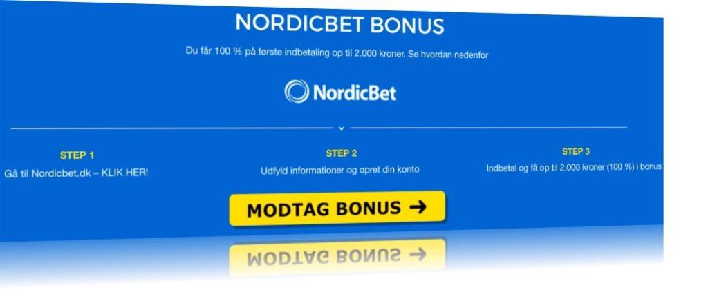 NordicBet Bonus nemt